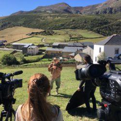 Entrevista al ganadero y profesor de Economía José Ramón Blanco Rodríguez, en el puerto de Leitariegos, entre León y Asturias
