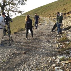 Entrevista a un joven ganadero de caprino en el Pozo de las Mujeres Muertas, cerca de Cangas de Narcea (Asturias)